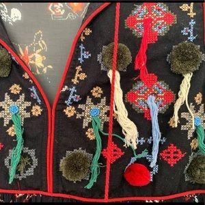 Zara Dresses - ZARA Printed, Embroidered, Beaded Mini Dress